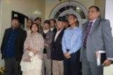 Cheif Minister Mamata Banerjee with GJM leaders in Darjeeling