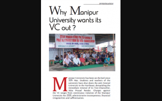 Why Manipur University wants its VC out?