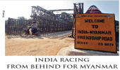 INDIA RACING FROM BEHIND FOR MYANMAR