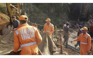 Rescue operation continues for trapped miner