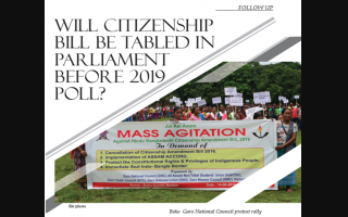 Will Citizenship Bill be tabled in Parliament before 2019 poll?