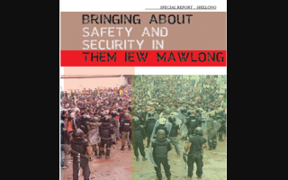 Bringing about Safety and Security in them Iew Mawlong