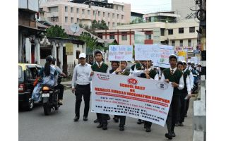 Measles-Rubella Vaccination Campaign in Shillong