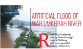 Artificial Flood of Wah Umkhrah River