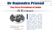Dr Rajendra Prasad: The First President of India A Tribute