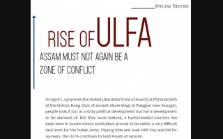 Rise ofULFA Assam Must Not Again Be A Zone of Conflict