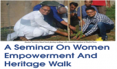 A Seminar On Women Empowerment And Heritage Walk