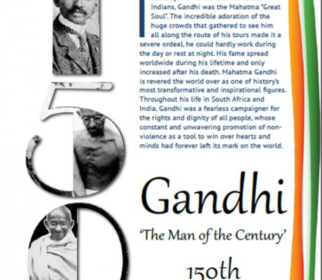 Gandhi 'The Man of the Century'