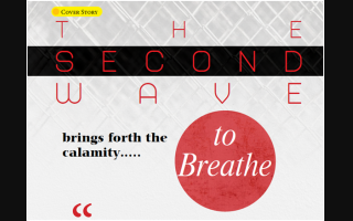 The second wave brings forth the calamity….. to Breathe