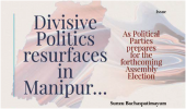 Divisive Politics resurfaces in Manipur