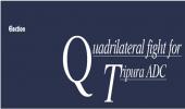 Quadrilateral fight for Tripura ADC