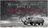 Assam Demolishes Myth on 'World Rhino Day'